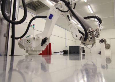 robot reflet